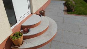 Patios and garden maintenance by Bernie's Gardening Services garden deisgner Guernsey