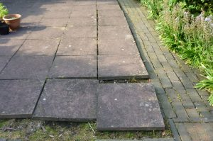loose slabs landscaping stone