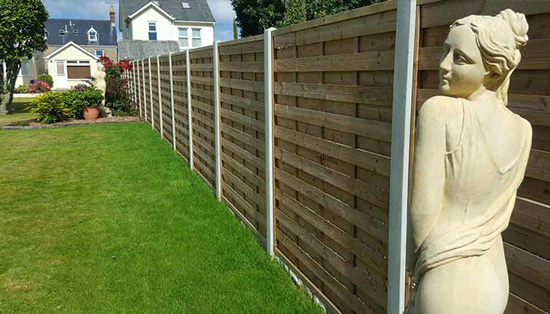 At Bernie's Gardening Services we have a team of fencing contractor that will erect a fence in your garden.
