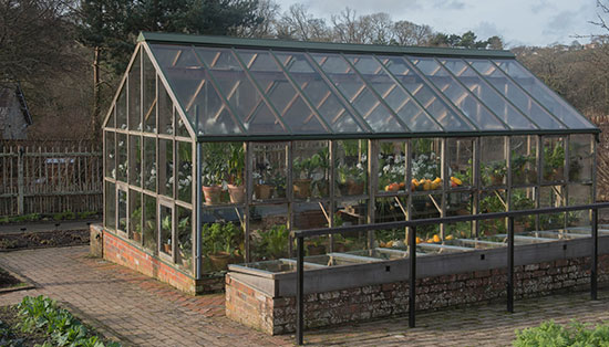 We carried out the demolition of a greenhouse and then rebuilt a brand new one.
