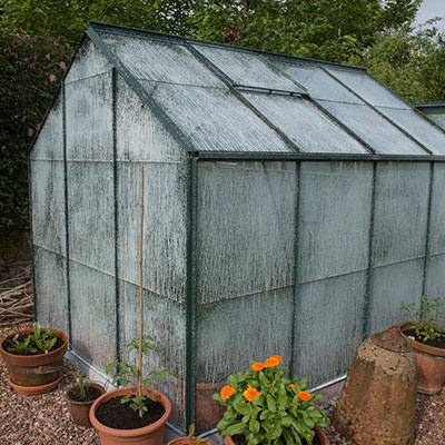 What are greenhouses used for?